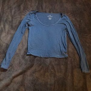 American Eagle Soft & Sexy blue long sleeve